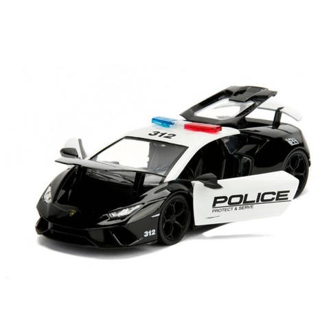 Hyperspec Diecast Lamborghini Huracan Performante Police - 1:24 Scale - image 1 of 4