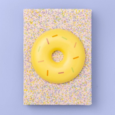 More Than Magic™ Squishy Cupcake and Sprinkles Layflat Journal