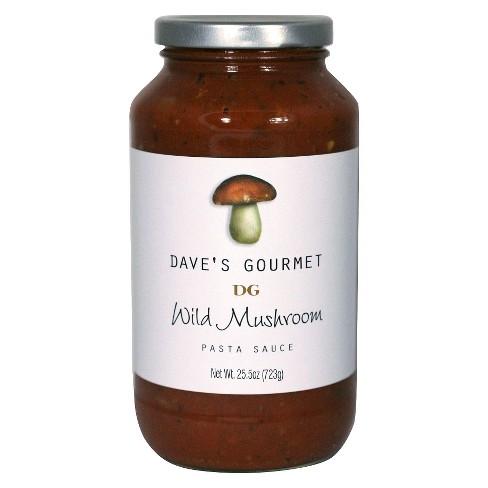 Dave's Gourmet Wild Mushroom Sauce 25.5 oz - image 1 of 1