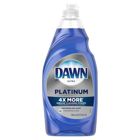 Dawn Platinum Dishwashing Liquid Dish Soap - Refreshing Rain - 24 fl oz - image 1 of 4