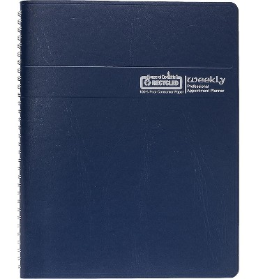 """House of Doolittle 2022 8.5"""" x 11"""" Planner Professional Blue 27207-22"""