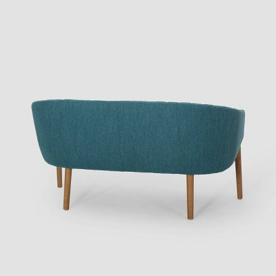 Galena Mid-Century Loveseat - Christopher Knight Home : Target