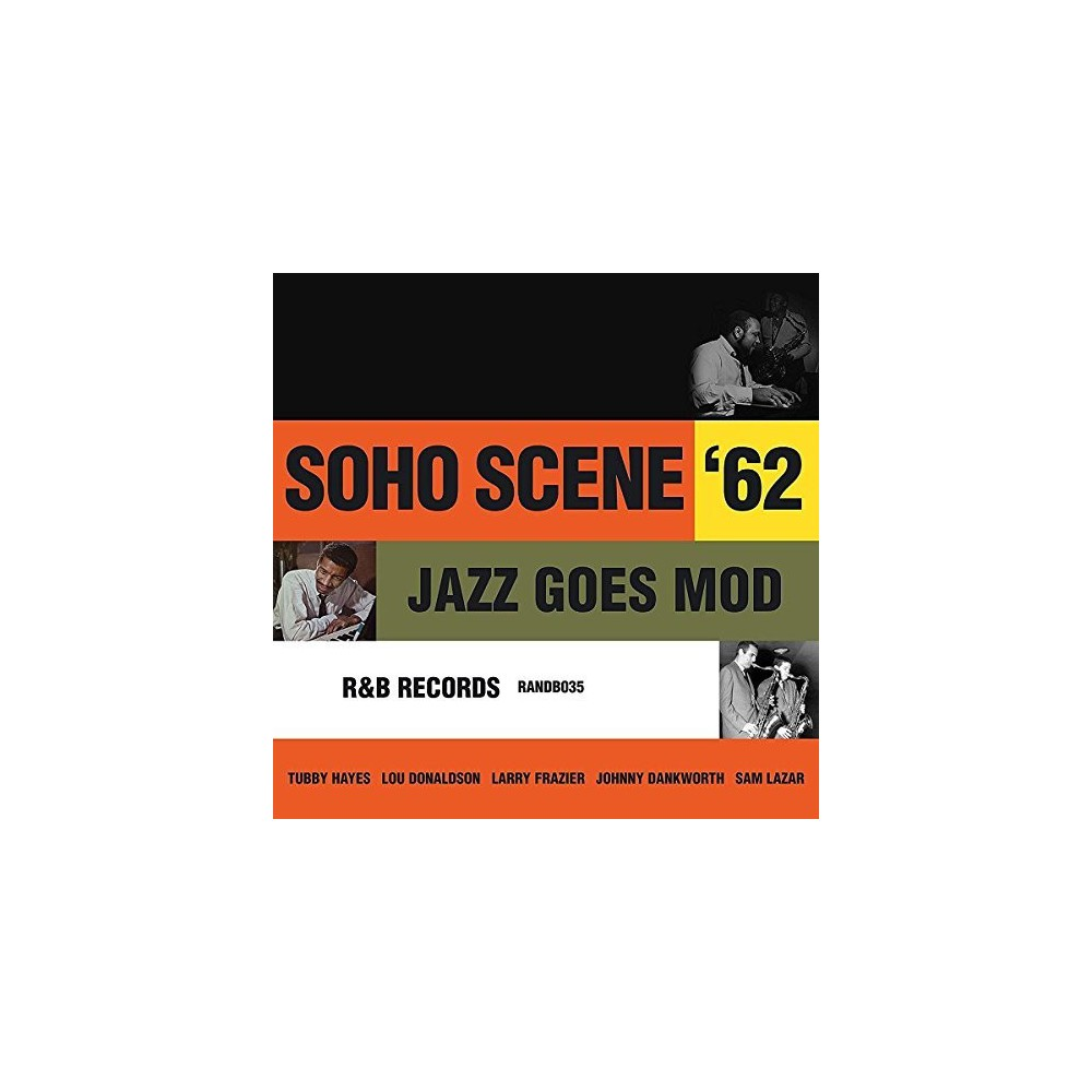 Various - Soho Scene 62:Jazz Goes Mod (CD)