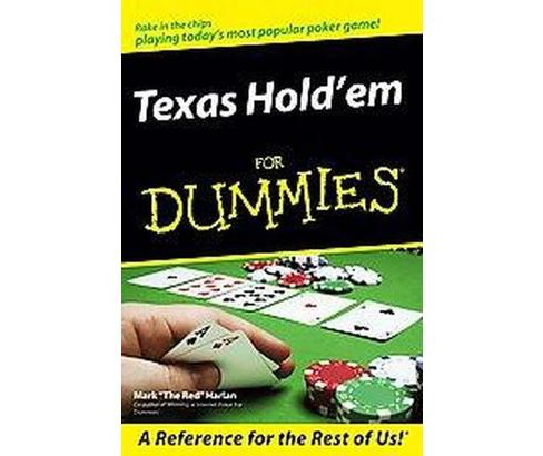 Texas Hold'em for Dummies (Paperback) (Mark Harlan) - image 1 of 1