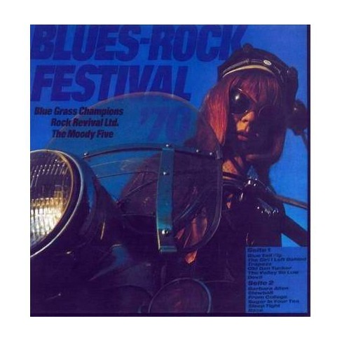 Various - Blues/Rock Festival/Beat Club International (CD) - image 1 of 1