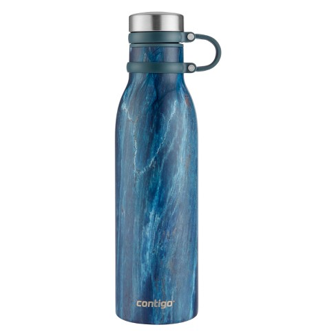Contigo Matterhorn Couture Stainless Steel Hydration Bottle 20oz - Blue Slate - image 1 of 4