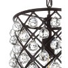 Katherine Metal LED Semi-Flush Mount - JONATHAN Y - image 3 of 4