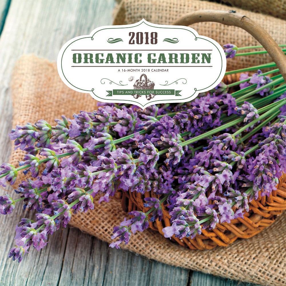 2018 Organic Gardening Wall Calendar - Trends International, Multi-Colored