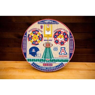 NCAA Arizona Wildcats Official Football Dartboard