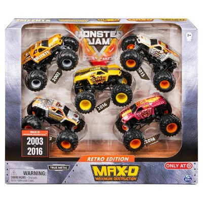Monster Jam 1:64 Scale - 5 pk Max D