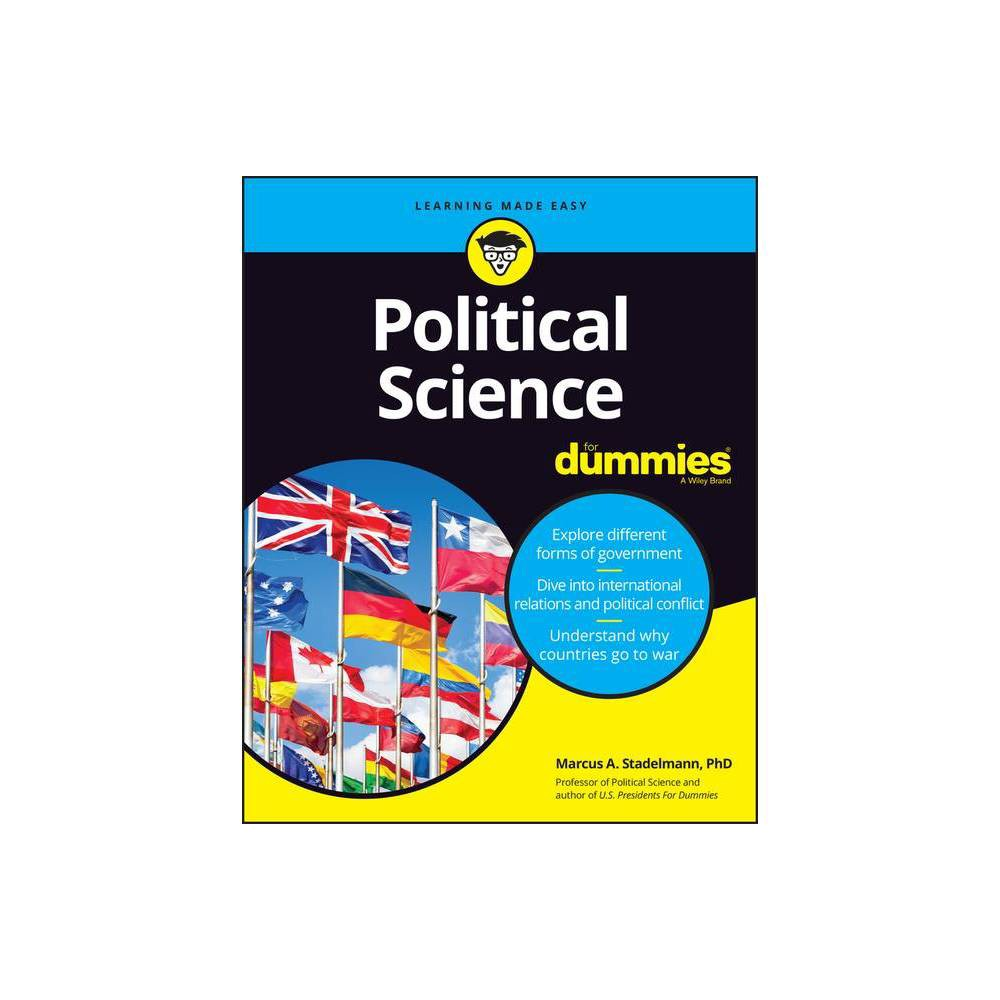 Political Science For Dummies By Marcus A Stadelmann Paperback