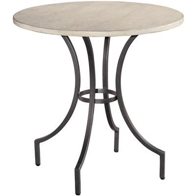 Hekman 12210LN Hekman Iron Round Lamp Table 1-2210Ln Linen