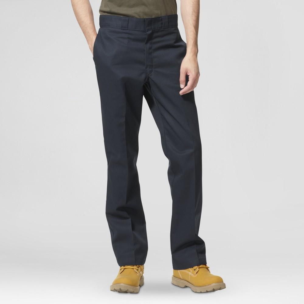Best Price Dickies Men Regular Straight Fit Twill Work Pants With Extra Pocket Dark Navy 32x30