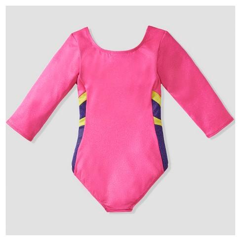 b8efab6ce6a5 Girls  Freestyle By Danskin Leotard - Pink M   Target