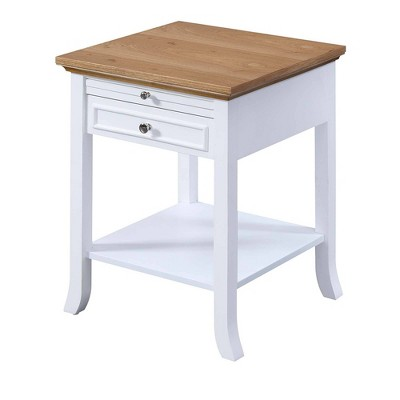 American Heritage Logan End Table with Drawer and Slide - Johar Furniture