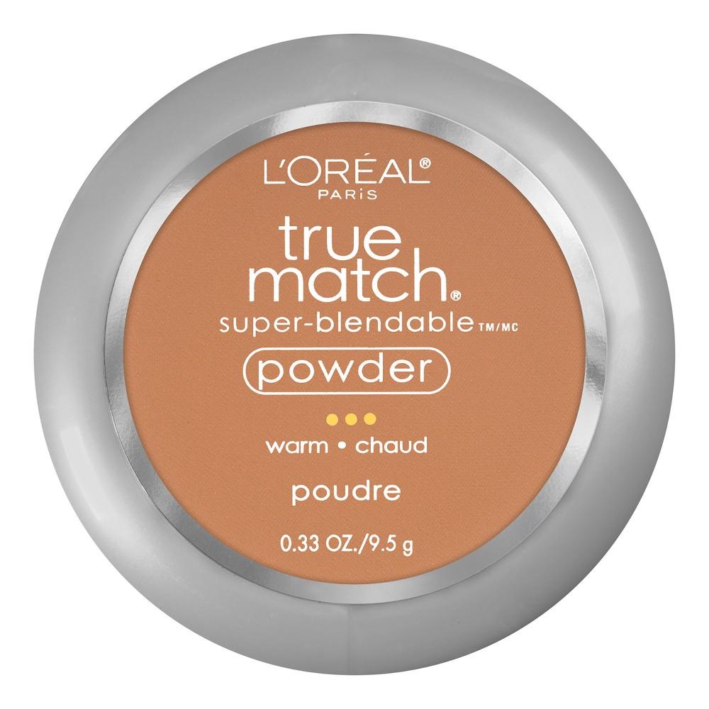 L'Oreal Paris True Match Powder W7 Caramel Beige .33oz, Caramel Beige W7