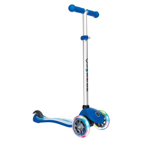 Globber Primo Fantasy 3 Wheel Adjustable Height Scooter with LED Light Up Wheels - Stars & Stripes Print - image 1 of 2