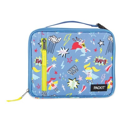 Packit Freezable Classic Lunch Box - P the SuperHero