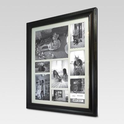 8-Opening Distressed Frame Black (16 X20 )- Threshold™