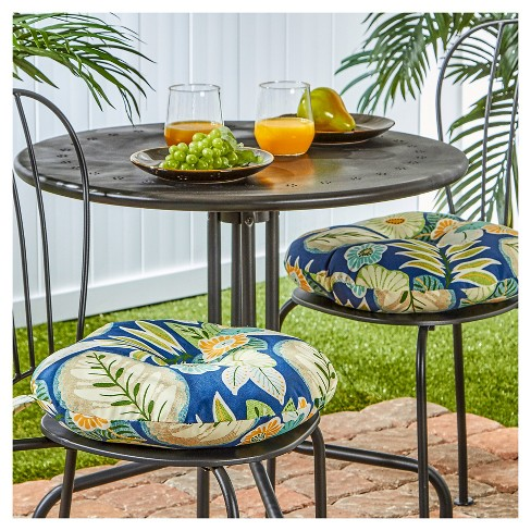 Outdoor Bistro Chair Cushion Set Marlow Greendale Home Fashions