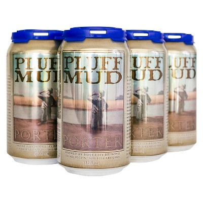 Holy City Pluff Mud Porter Beer - 6pk/12 fl oz Cans
