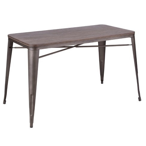 Oregon Industrial/Farmhouse Utility Table - Lumisource - image 1 of 7