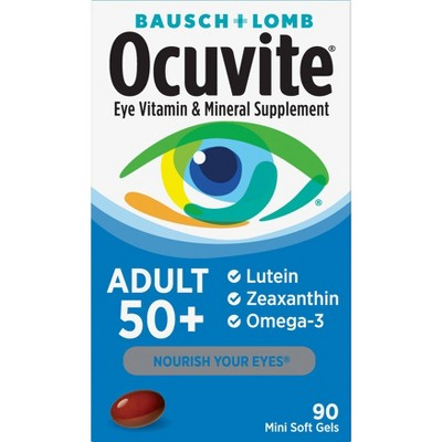 Ocuvite Eye Vitamin and Mineral Dietary Supplement Softgels - 90ct