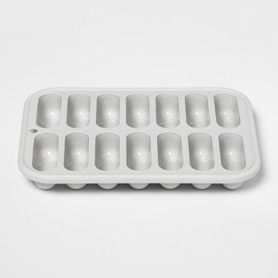 Silicone Ice Cube Tray 14oz Silver - Room Essentials™