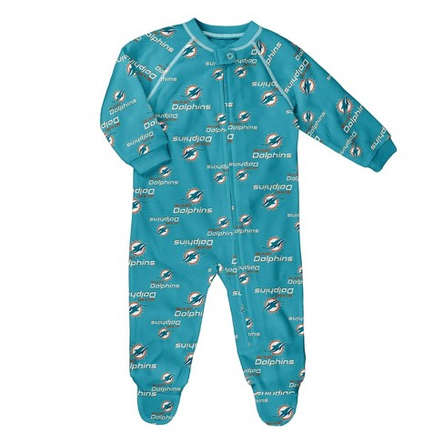 huge selection of 4b963 8ae7e NFL Miami Dolphins Baby Boys' Blanket Sleeper