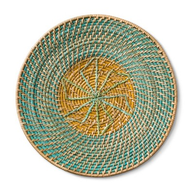 Woven Circle Wall Décor - Blue/Green - Threshold™