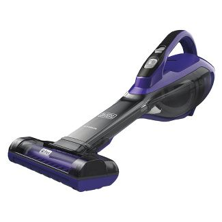 BLACK+DECKER furbuster PET Lithium Hand Vacuum, with PET Attachment and Base - Purple HLVA325BP07