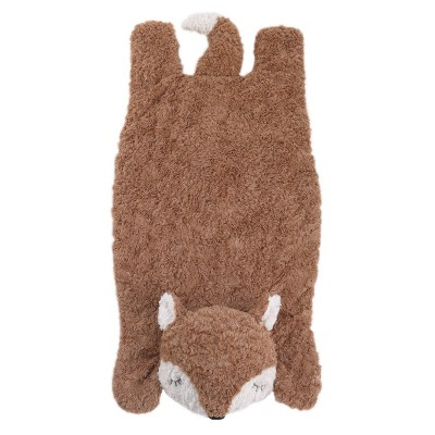 Crown Crafts Luxury Plush Tummy Time Mat - Fox