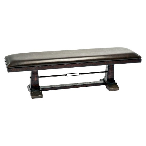 Hayden 16 X 56 Backless Bench Rough Sawn Espresso Finish - Intercon - image 1 of 1