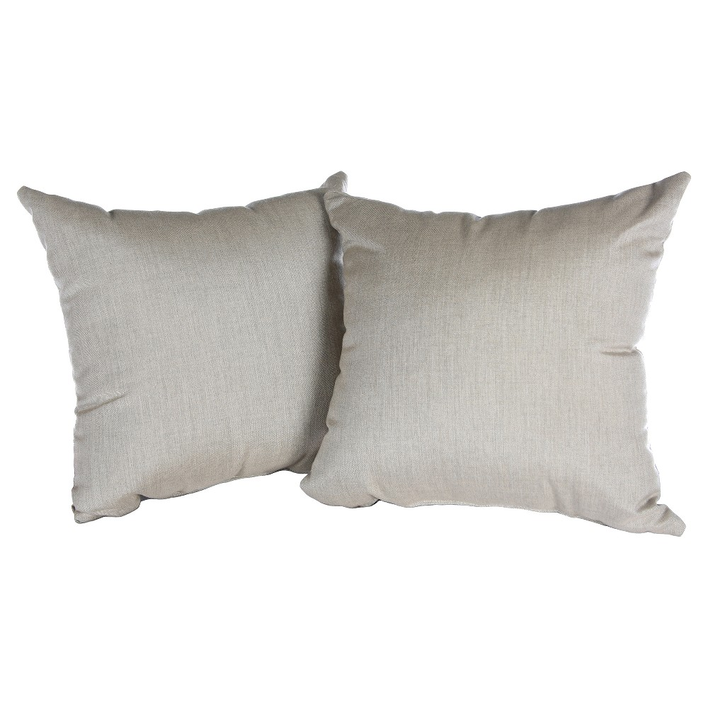 Image of Pillow in Cast - Ash - AE Outdoor, Grey