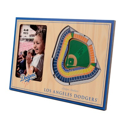 "MLB Los Angeles Dodgers Stadium View Photo Frame - 4"" x 6"""
