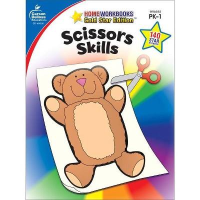 Scissors Skills, Grades Pk - 1 - (Home Workbooks: Gold Star Edition) (Paperback)