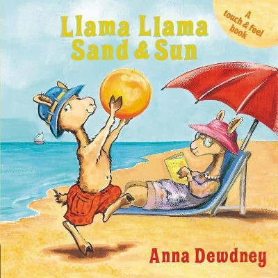 Llama Llama Sand and Sun (Board Book) - by Anna Dewdney