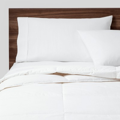 Full/Queen Warmer Down Blend Comforter Insert White - Made By Design™