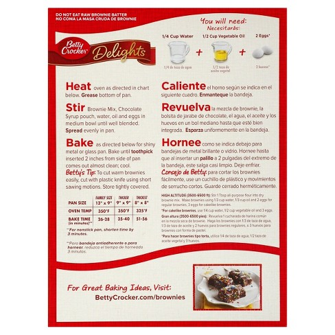 Betty Crocker Supreme Original Brownie Mix 2225oz Target