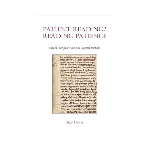 patient readingreading patience  oxford essays on medieval english  patient readingreading patience  oxford essays on medieval english  literature  hardcover  target