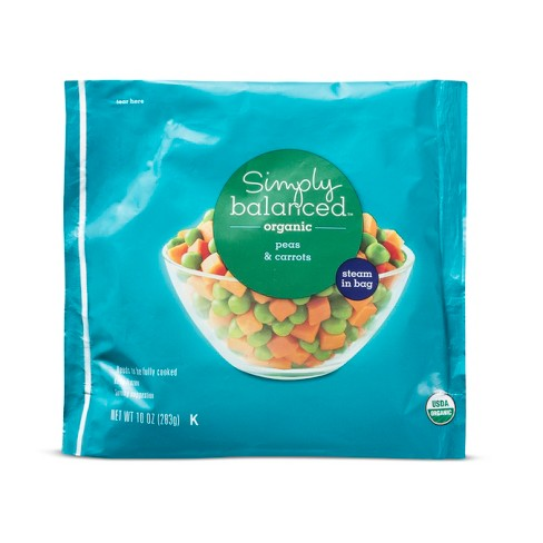 Frozen Organic Peas and Carrots - 12oz - Simply Balanced™ - image 1 of 1