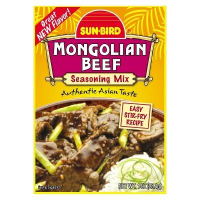 Sun Bird Mongolian Beef Seasoning 1oz