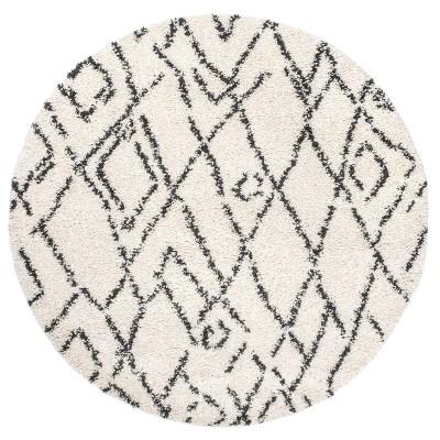 nuLOOM Nieves Moroccan Diamond Tassel Area Rug