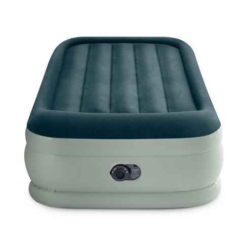 "Intex Elevated 18"" Premium Comfort Twin Air Mattress with Internal Pump - image 1 of 3"