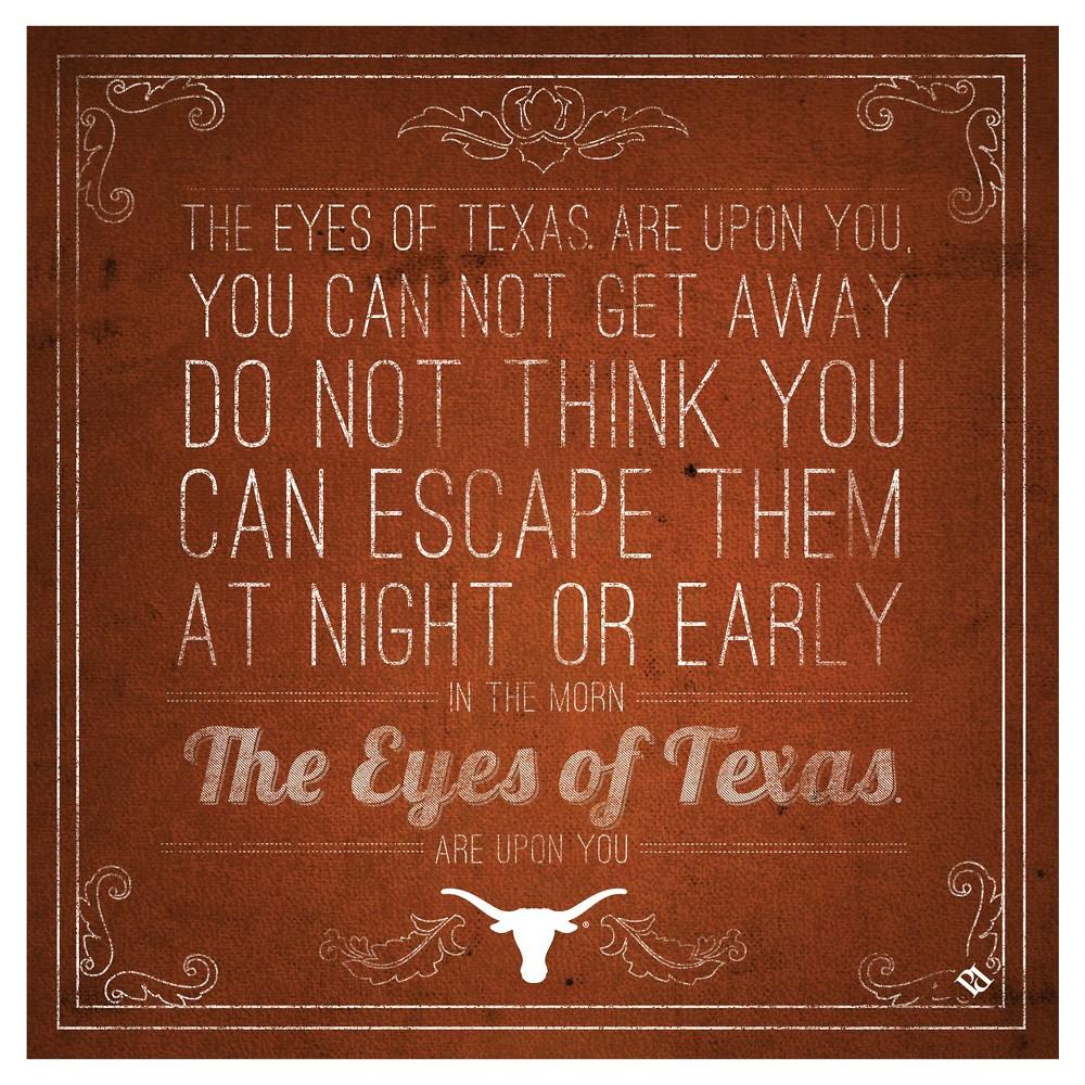 Texas Longhorns Spirit Trivets, Orange