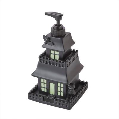 Haunted House Lotion/Soap Dispenser Black - SKL Home