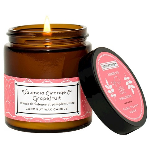 Small Jar Candle Grapefruit - Pure Plant Home® - image 1 of 1