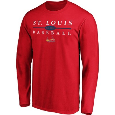 MLB St. Louis Cardinals Men's Long Sleeve Core T-Shirt