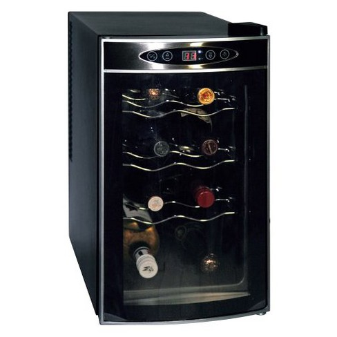 Koolatron 8 Bottle Counter Wine Cooler - Black WC-08 - image 1 of 4