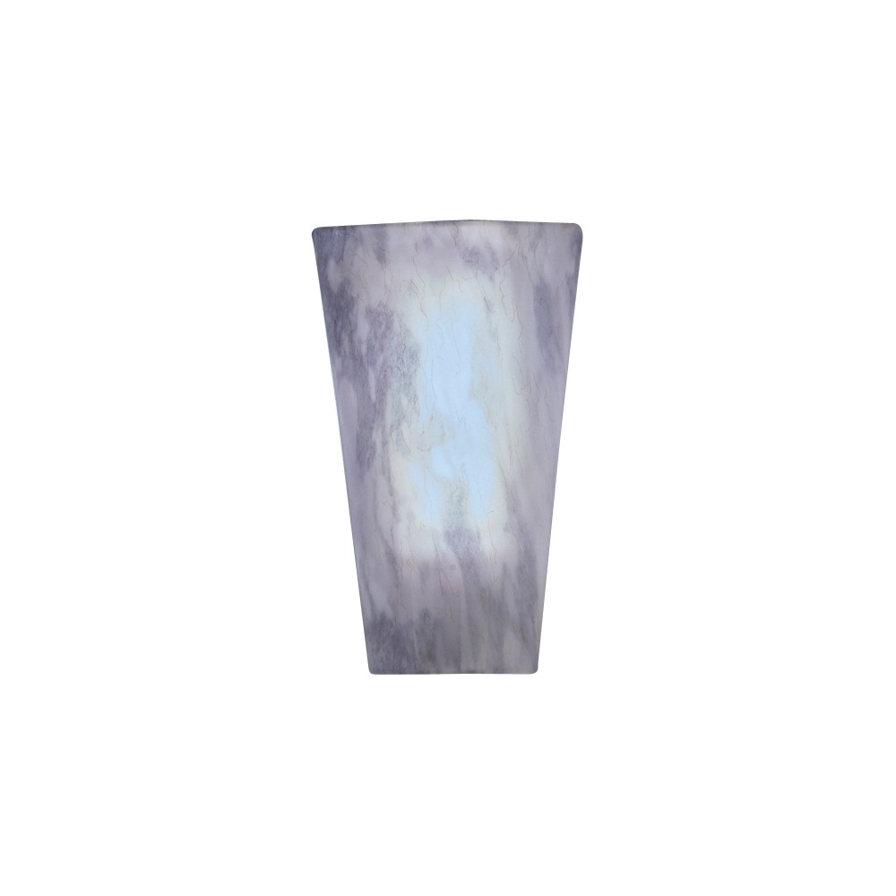 Image of Battery-Operated Vivid Stone High Gloss Sconce